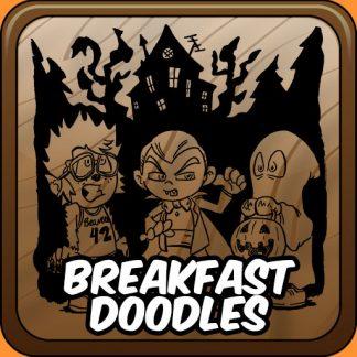 Breakfast Doodles Series