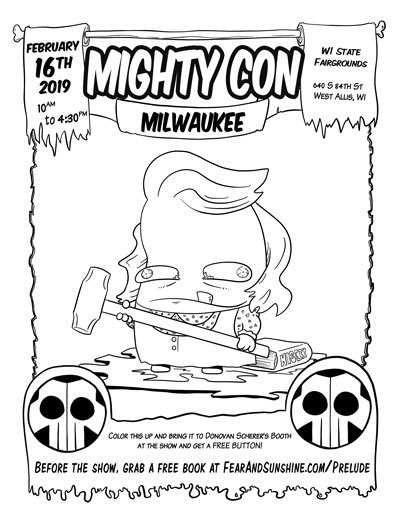 Come out to Mighty Con Milwaukee on February 16, 2019 to get the nerdy stuff you love or find your next favorite thing.